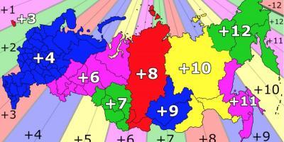 Rusland Kort Bexdyie